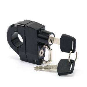 Universal 25mm Handlebar Helmet Lock