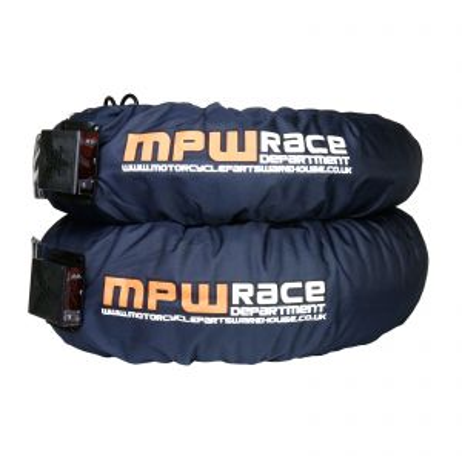 MPW Race Dept Digital Superbike Tyre Warmers 120/160 - Dark Grey