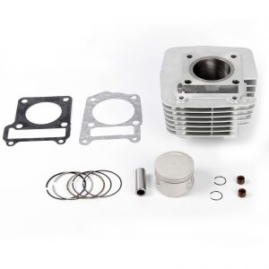 Cylinder Barrel and Piston Kit with Gasket for Yamaha YBR 125