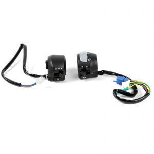 Complete L/H R/H Handlebar Switches Switchgear for Yamaha YBR 125