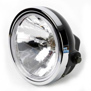 """Complete Headlight Assembly 7"""" for Yamaha YBR 125"""