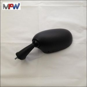 Direct Replacement Left Hand Mirror Black