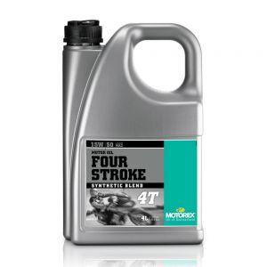 Motorex 15W50 4T - Four Stroke Engine Oil - 4 Litre
