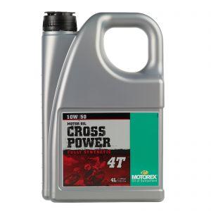 Motorex 10W50 4T - Cross Power Off Road Engine Oil - 4 Litre