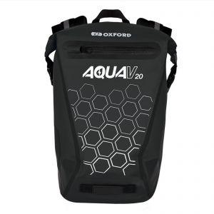 Oxford Aqua V20 Waterproof Reflective 20 L Backpack - Black