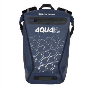Oxford Aqua V20 Waterproof Reflective 20 L Backpack - Navy