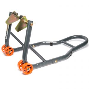 MPW Race Dept - Front Paddock Stand in Grey/Orange
