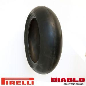 Pirelli Diablo SC1 Superbike - Rear Tyre - 200/60-17R
