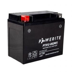 PTX14BS-12V (YTX14BS) Powerite AGM Motorcycle Battery | 12V 14Ah