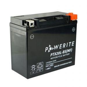 PTX20LBS-12V (YTX20LBS) Powerite AGM Motorcycle Battery | 12V 20Ah