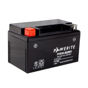 PTX7ABS-12V (YTX7ABS) Powerite AGM Motorcycle Battery | 12V 7Ah