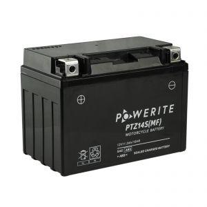 PTZ14S-12V (YTZ14S) Powerite AGM Motorcycle Battery | 12V 11.2Ah