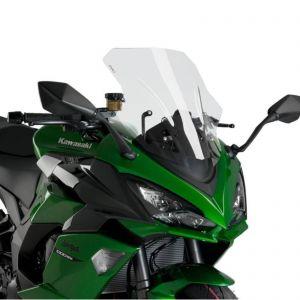 Puig Clear Racing Screen For Kawasaki Z 1000 SX 10-19   Ninja 1000 SX 20-