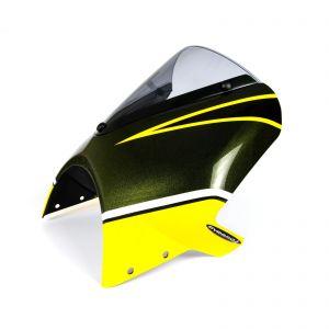 Pyramid Candytone Green Fly Screen Fairing - Kawasaki Z900RS 2018-