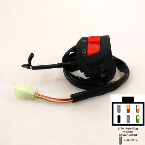 Handlebar Switch Gear (DRL) - Right - Sinnis Apache 125, Blade 125