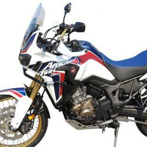 RD Moto Engine Guards - Black - Honda CRF 1000 L Africa Twin 16-19