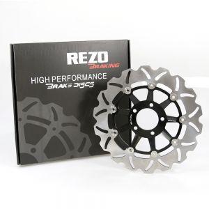 Rezo Wavy Front Brake Disc - Suzuki GSX-R 750 / GSX-R 1100