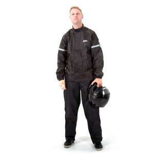 Rainguard Two Piece Waterproof Oversuit - Black