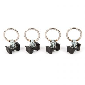 Ring Bolt Eyelets - Airline Load Securing Rail/Single Anchor Points x4