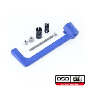 R&G Racing Blue Lever Guard for BMW HP4, S 1000 R/RR   Indian FTR 1200, FTR 1200 S