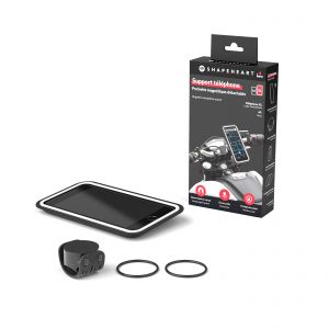 Shapeheart Magnetic Phone Case and Handlebar Mount for Motorcycles - Medium Size