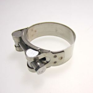 Stainless Steel Exhaust Clamp 52-55mm