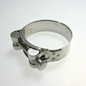 Stainless Steel Exhaust Clamp 56-59mm
