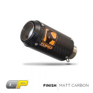 Toro 51mm Spring Fit Silencer - GP Matt Carbon Fibre