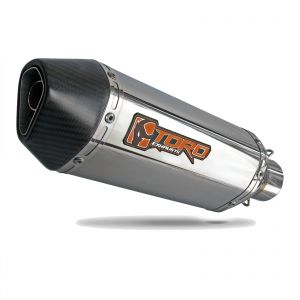 Toro 45mm Spring Fit Silencer - Hex Mini Stainless Steel/Carbon Cap