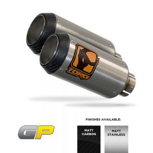 CBF1000 05-11 - Toro Exhaust Link Pipe, w/ Stainless GP Silencer
