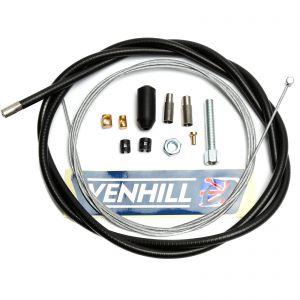 Venhill Universal 1.35m Clutch Cable Kit - Black
