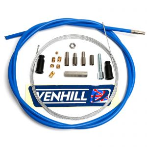Venhill Universal 1.35m Throttle Cable - 6mm Outer - Blue
