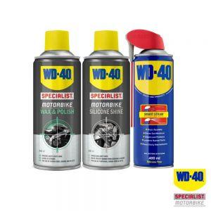 WD40 Silicone Shine, Original Lube, Wax and Polish