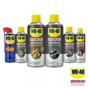 WD40 Chain Wax, Cleaner, Polish, Silicone Shine, Original Lube