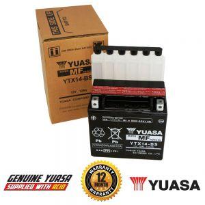 Yuasa YTX14-BS AGM Battery