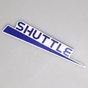 Handlebar Cover Sticker - Right - Sinnis Shuttle 125