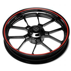 Front Wheel - Red Rim - Sinnis RSX 125