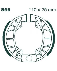 EBC 899 Organic Rear Brake Shoes