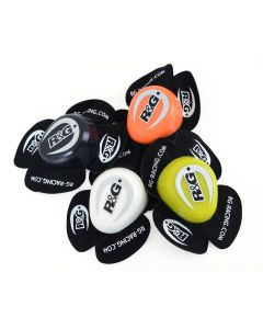 R&G Racing Aero Knee Sliders - (Black, Orange, White, Yellow)