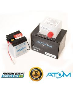 6N4-2A-2 Atom VRLA Motorcycle Battery 6V 4Ah