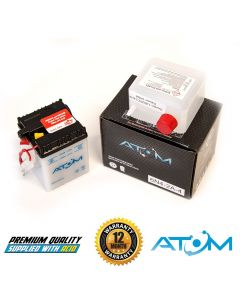 Atom 6N4-2A-4 Motorcycle Battery