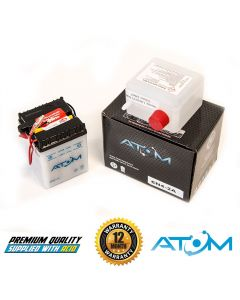 6N4-2A Atom VRLA Motorcycle Battery 6V 4Ah