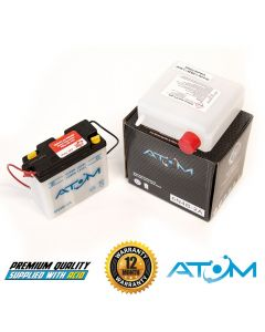 Atom 6N4B-2A Motorcycle Battery