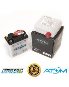 6N6-3B Atom VRLA Motorcycle Battery 6V 5Ah