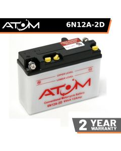 Atom Advanced 6N12A-2D Motorcycle Battery