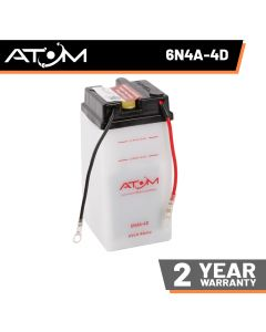 Atom Advanced 6N4A-4D Motorcycle Battery