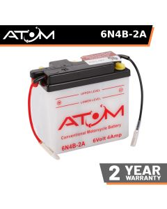 Atom Advanced 6N4B-2A Motorcycle Battery