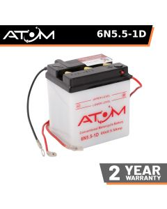 Atom Advanced 6N5.5-1D Motorcycle Battery
