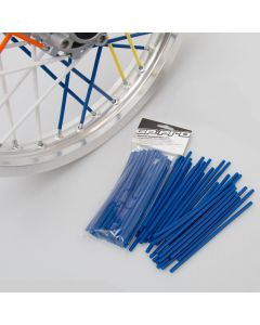 GP Pro Supermoto Spoke Coats - Blue 18CM 40pk