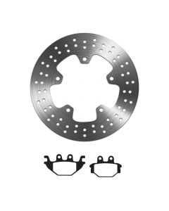 EBC Organic Brake Pad and Delta Rear Disc - Yamaha YZF-R 125